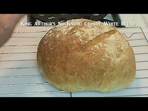 Cooking From Scratch: King Arthur's Crusty White Bread - It's Magic Bread