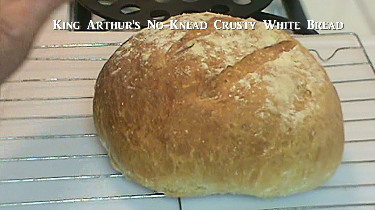 Cooking From Scratch King Arthur S Crusty White Bread It S Magic Bread Youtube