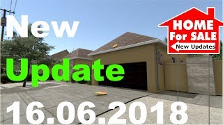 HOUSE FLIPPER -  NEW HOUSE/Keybindings/Shevles And More |  Newest Update Overview 16.06.2018 |