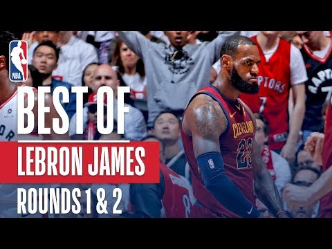 LeBron James' Best Plays First and Second Round: 2018 NBA Playoffs