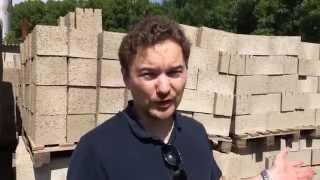 видео Блок перегородочный
