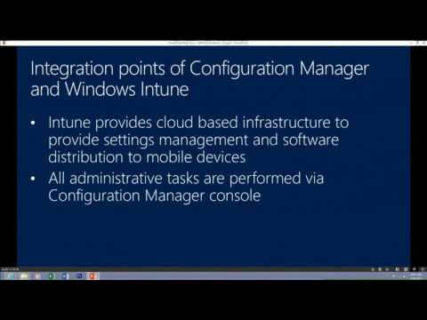 TechEd Europe 2013 Deploying and Configuring Mobile Device Management Infrastructure with Microsoft