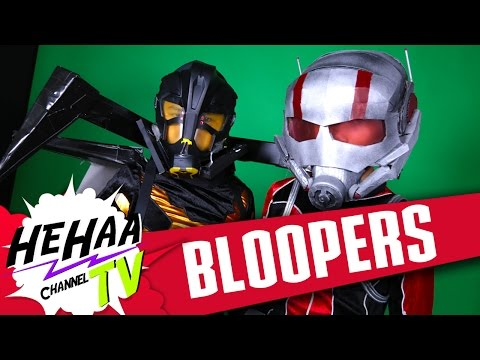 Marvel's Ant Man Trailer Parody Baby - Outtakes and Bloopers