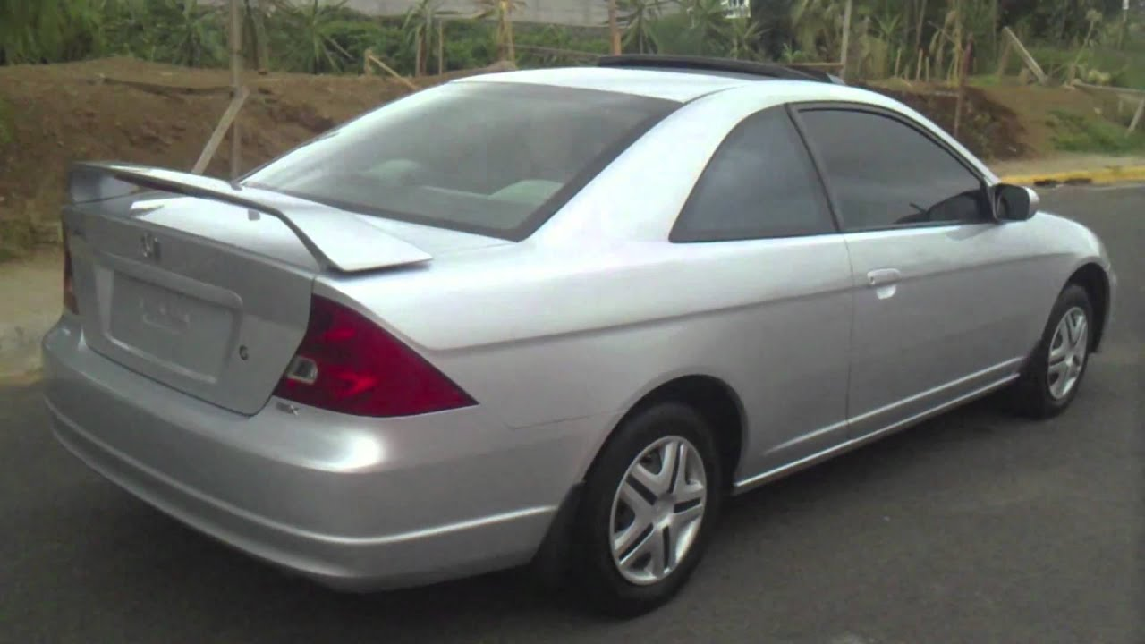 Honda Civic Ex 2002 Manual Vtec  YouTube