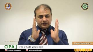 Certified Islamic Professional Accountant | Auditing | Terms of Audit Engagement