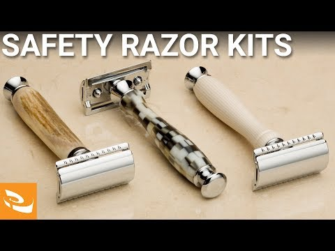 Safety Razor Kit (Woodturning Project) - YouTube