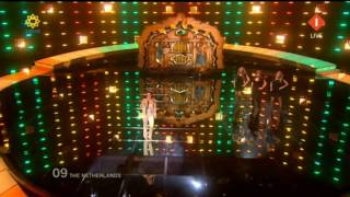 Eurovision 2010 - The Netherlands - Sieneke - Ik Ben Verliefd (Sha la lie)