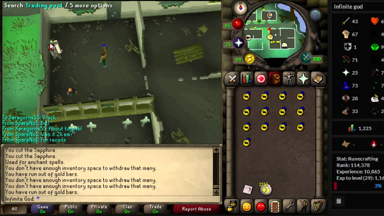 crafting guide runescape oldschool runescape 750k hr crafting amp magic money 1735