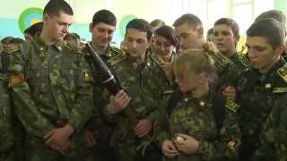 Вихованцям військового ліцею провели урок патріотизму  учасники АТО