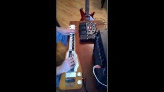 soviet lap steel guitar dato karchava :)