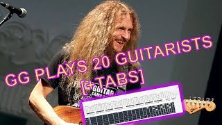 GUTHRIE GOVAN PLAYS 20 GUITARISTS [+TAB]