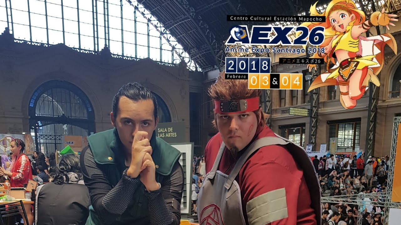 Aex Anime aex 26 verano chile 2018 .hd (anime expo- cosplay)