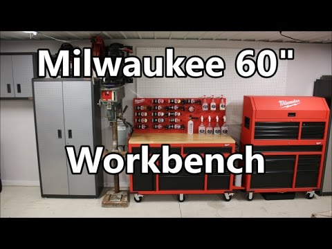 Milwaukee 60 Quot Mobile Workbench 48 22 8560 Setup Review