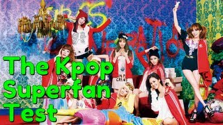 Kpop Music Mondays - The Kpop Superfan Test