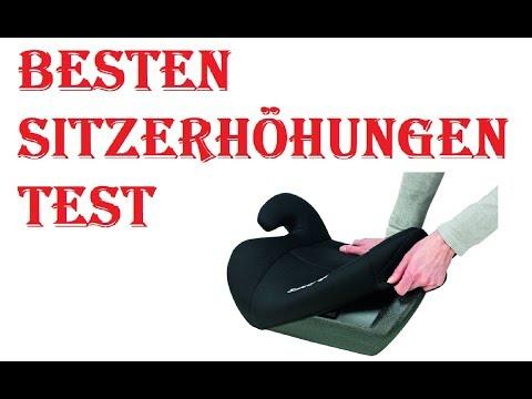 Die Besten Sitzerhöhungen Test 2020