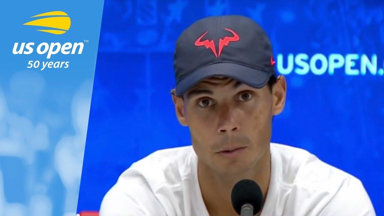 2018 US Open Press Conference: Rafael Nadal (Spanish)