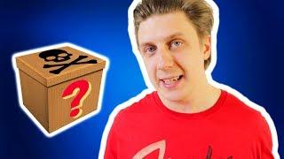 Dark Web Mystery Brand sent me a Fortnite Loot because I make YouTube Videos