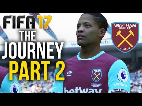 FIFA 17 THE JOURNEY Gameplay Walkthrough Part 2 - PRE-SEASON TOUR (West Ham) #Fifa17