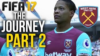 FIFA 17 THE JOURNEY Gameplay Walkthrough Part 2 - PRE-SEASON TOUR (West Ham) #Fifa17