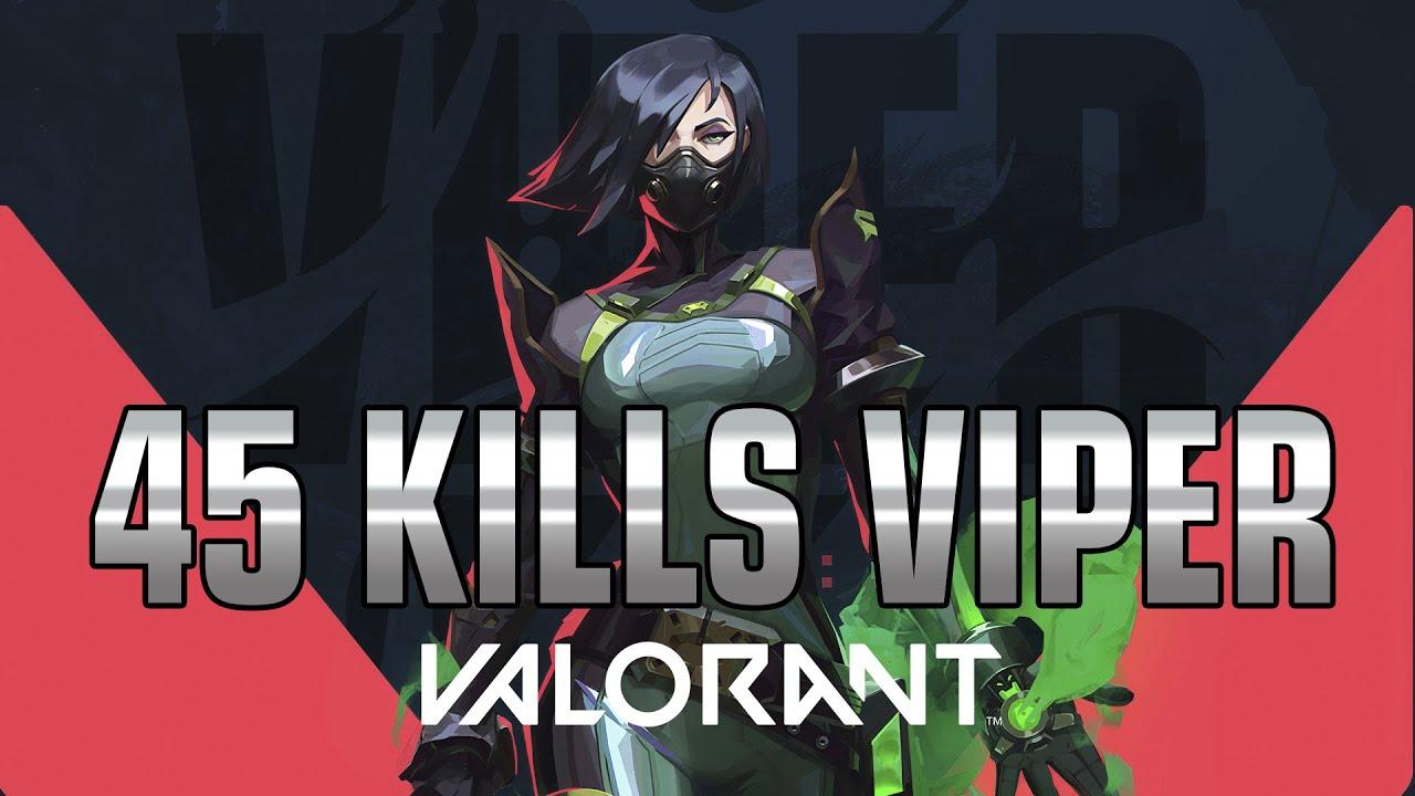 45 KILLS CARRY With Viper VALORANT Gameplay 【ヴァロラント / ヴァイパー / VTuber】