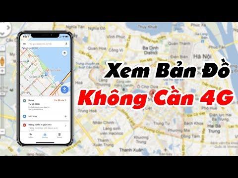 Truesmart - Cách Dùng Google Map Không Dùng Mạng 4G Wifi Cực Đơn Giản - 동영상