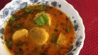 Gatte ki sabzi~राजस्थानी गट्टे की सब्ज़ी~ Besan gatte ki sabzi#Delhidairies