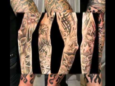 Tatuaje De La Manga Para Hombre De Las Ideas De Diseño Youtube