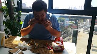 The Randy Santel $20 McDonalds Challenge Attempted by Brian