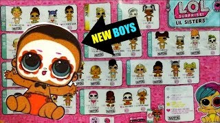 NEW BOYS LOL Surprise Series 4 wave 2 lil sisters and lil brothers Checklist revealed