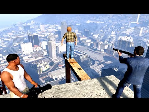 GTA V Franklin And Michael Kills Lester