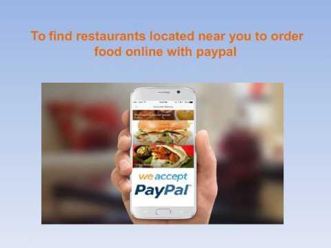 Online Food Order Delivery App