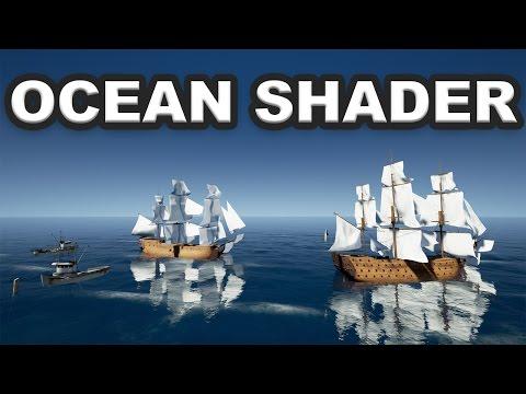 [UE4 TUTO FR] Pack - Ocean Shader (Plugin)