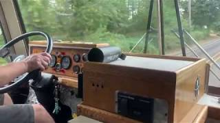 4106 gm bus test drive