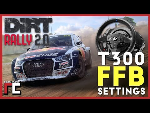 Dirt Rally 2 T300 RS Force Feedback Settings (re-upload)