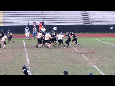 "QB James ""McKinley"" Summers run.2010 Sprayberry Yellowjackets Varsity Football Spring Game.MOV"
