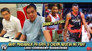 Gambar cover Banned na sa PBA si CALVIN ABUEVA? | Maka-Balik pa kaya ito ng PBA?