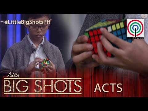 Little Big Shots Philippines: Franco | 10-year-old Cuber