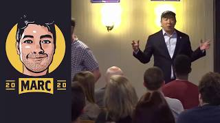 Andrew Yang Photographed by Attractive Woman!