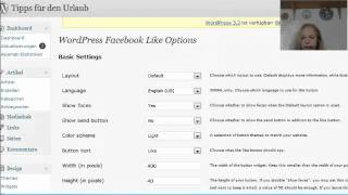 Wie baue ich den Facebook-Like-Button in Wordpress ein