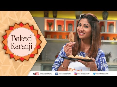 Baked Karanji | Shilpa Shetty Kundra | Healthy Recipes | The Art Of Loving Food