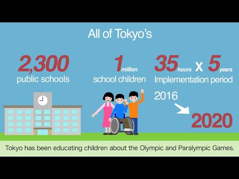 Olympic and Paralympic Education in Tokyo Promotion Movie