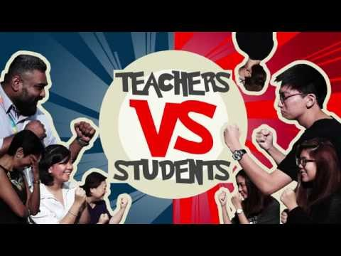 Teachers vs Students - A friendly competition for Teachers' Day!