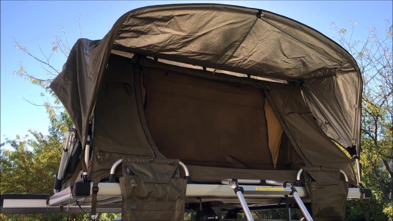 xtm standard manual rooftop tent