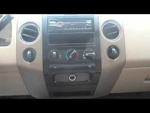 2004 f150 double din install part 1 doovi. Black Bedroom Furniture Sets. Home Design Ideas
