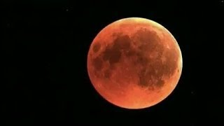 The best live shots as world watches for total lunar eclipse | ITV News