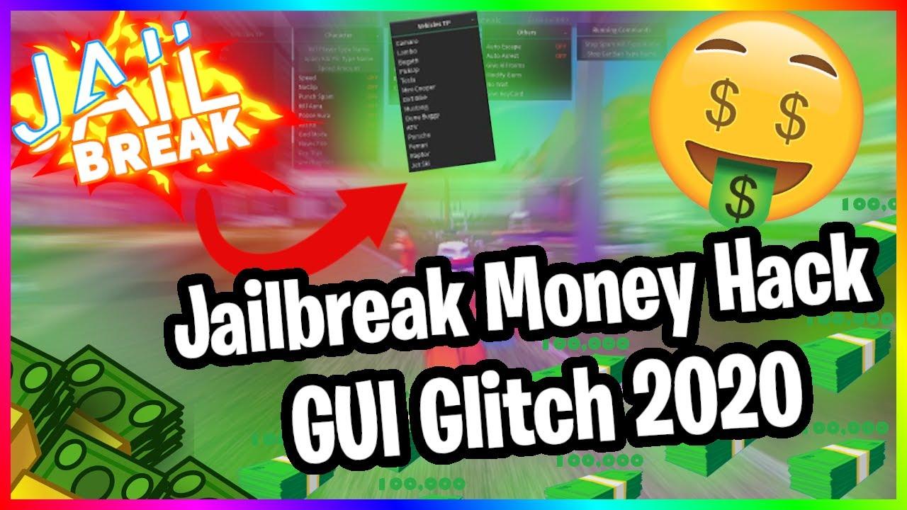 Jailbreak Free Money Hack Gui Script Exploit 2020 Youtube