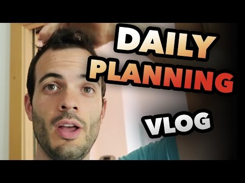 DAILY PLANNING AS ENTREPRENEUR - BARCELONA DAILY VLOG #12