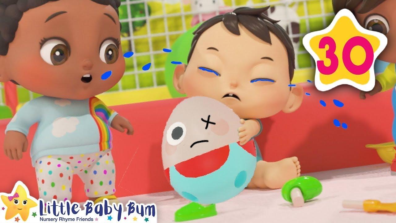 Humpty Dumpty | How To Nursery Rhymes | Little Baby Bum ...
