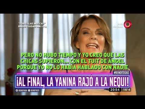 ¡Al final, la Yanina rajó a la Nequi!