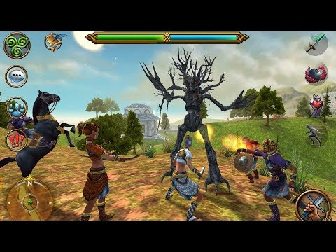 Celtic Heroes 3D Open World MMORPG Gameplay Android IOS